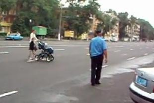 пешеход коляска