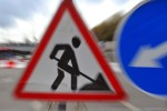 ремонт дорог знак