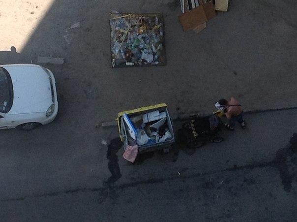 инвалид мусорка 3
