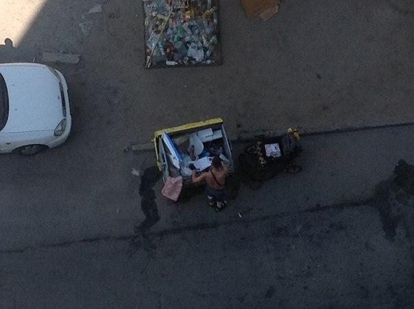 инвалид мусорка 4