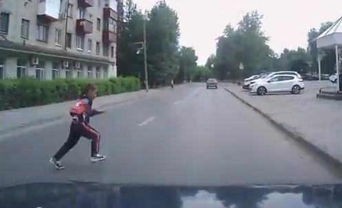ребёнок дорога