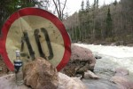 знак 40 река
