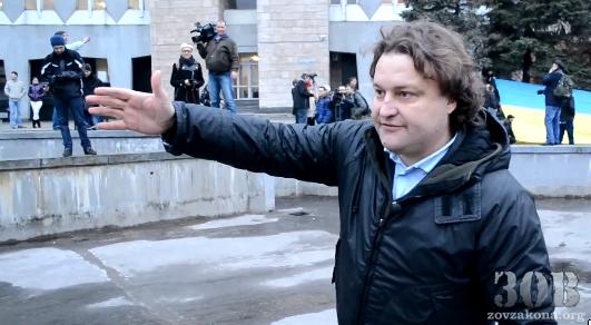 Российский журналист оговорился