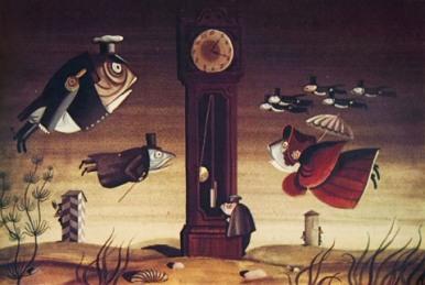Кадр из мультфильма студии «Союзмультфильм» 1979